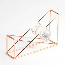 *RARE* NEW ANTHROPOLOGIE ROSE GOLD TAPE DISPENSER HOLDER DESK ACCESSORIES OFFICE
