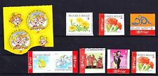 10 TIMBRES AUTO COLLANTS ** MNH.