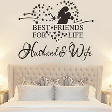 English Proverbs Marriage Room Bedroom Wall Sticker Decal Home Decor Waterproof