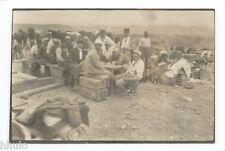 C491 Photo vintage originale snapshot militaire légionnaire Afrique campement