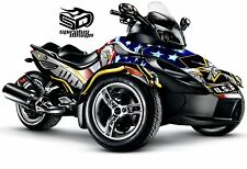 Can Am Spyder GS RS RSS graphic wrap decal body kit The Patriot Army