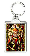 SAINT PATRICK - CATHEDRAL OF CHRIST THE LIGHT - OACKLAND CA KEYRING LLAVERO