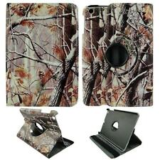Pinetree Camo  For Apple Ipad Mini 1 & 2 Folio Case Cover NM360 Rotating