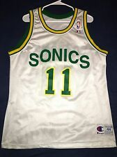 Detlef Schrempf Seattle Supersonics Sonics Jersey Mens Jersey Champion Size 44 L