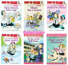 READY TO READ Level 1 Eloise by Kay Thompson Value Pack 6 Books $23.96 Value NEW
