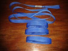 FOUR X 2 Mtrs LOOPED SAIL TIES ( CHOICE OF THREE COLOURS )