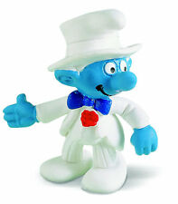 NEW WITH TAG - BRIDEGROOM SMURF by SCHLEICH FROM THE SMURFS - 20413