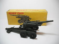MECCANO FRENCH DINKY TOYS RARE #819F ABS 155 HOWITZER, NEAR MINT IN ORIGINAL BOX