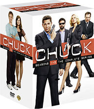 CHUCK - SEASON 1 TO 5 - DVD - REGION 2 UK