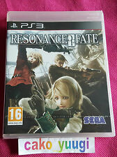 RESONANCE OF FATE SONY PS3 NEUF SOUS BLISTER VERSION FRANCAISE