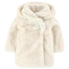 Tartine et chocolat bébé ivoire fausse fourrure manteau veste 2 ans