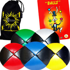 5x Thud Juggling Balls + FREE Mr Babache Book / Any Col