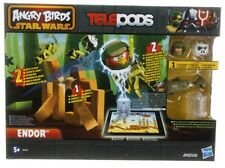NEW OFFICIAL ANGRY BIRDS STAR WARS TELEPODS ENDOR GAME ANGRY BIRD