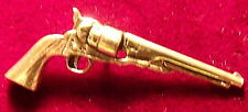 Pewter Colt Navy Peacemaker Brooch Pin  Signed
