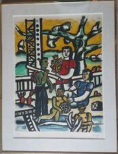 Joseph Fernand Henri Leger (French, 1881-1955) H.Deschamps grav.lth.Mourlot 1976