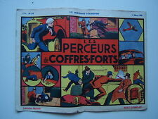 EDITION MONDIALES / LES AVENTURIERS D AUJOURD HUI / NUMEROS 24 / MARS   1939