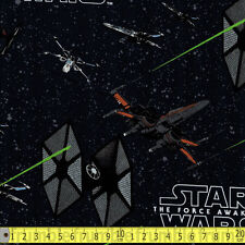 Camelot Fabric Star Wars Force Awakens Ships PER METRE Immortals Classic Film Ge