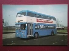 POSTCARD DERBY CORPORATION BUS NO 195 - 1967 DAIMLER CVG 6LX