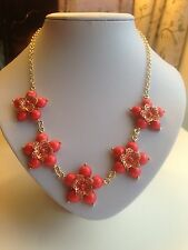 Gems Stamens Flowers Necklace