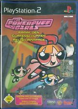 The Powerpuff Girls/Le Superchicche Ps2 1A Stampa Italiana Sigillata Con Manuale