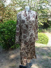 AMAZING J.PETERMAN VTG  Silk Tunic  sz 14