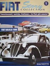 FASCICOLO FIAT STORY COLLECTION  N° 1  HACHETTE  ( SOLO FASCICOLO ) ( S8-1 )