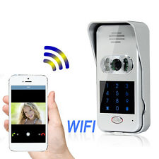 Wireless Wifi  Smart  Remote Video Camera Phone Intercom Door bell Home Security