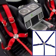 1/10 Drift Axial Wraith & Others Blue Seatbelt Racing 5 Point Harness Set