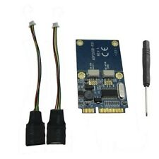Mini PCI-E PCI Express to 5-pin Dual USB 2.0 Adapter Riser Card Extender