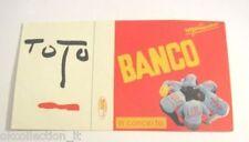 ADESIVO anni '80 vintage / Old Sticker TOTO BANCO DEL MUTUO SOCCORSO (cm 15 x 8)