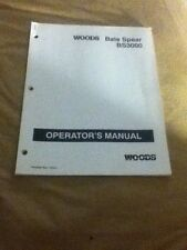 52628 - Is A New Operators Manual For A Woods BS3000 Bale Spear