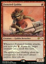Frenzied Goblin foil | ex + | FNM Promo | Magic mtg