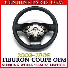 NEW OEM BLACK Stitch Leather Steering Wheel 2003-2008 Hyundai TIBURON / COUPE