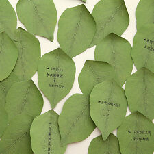 Korean Creative Leaf Shape Cute Sticky Notes Post It Memo Pad Note Paper Sticker