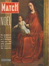 PARIS MATCH N°298 noel susan shentall l'abbe pierre fellagha 1954