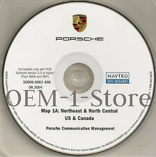 03 2004 PORSCHE CAYENNE S TURBO SPORT NAVIGATION MAP CD 1A NORTHEAST N CENTRAL