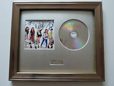 PERSONALLY SIGNED/AUTOGRAPHED THE SATURDAYS - WHAT ABOUT US FRAMED PRESENTATION