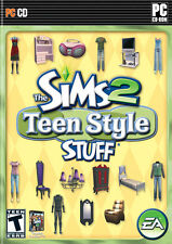 Sims 2: Teen Style Stuff - Simulation Expansion Add-On Windows PC Computer Game