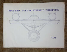 Star Trek Original Series USS Enterprise Blueprint Set of 12 Sheets (M5658)