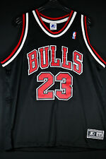 Authentic Starter michael air jordan Jersey camiseta nba camiseta bulls talla XL 48 52