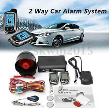 Universal 2 Way Car Keyless Entry Alarm Security System Sensor Remote Control