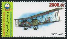 GOTHA G.IV German WW1 Bomber Biplane Aircraft Stamp