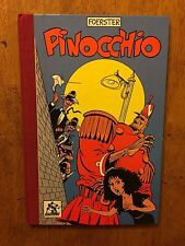 Pinocchio Foerster comic book 1983 hardcover magic strip