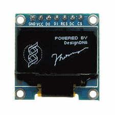 7Pin 0.96 Inch IIC/SPI Serial 128x64 White OLED Display Module