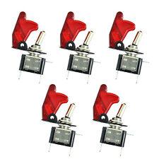 5 X 12V 20A KFZ LKW Schalter Kippschalter Wippschalter LED Beleuchtet Rot HY
