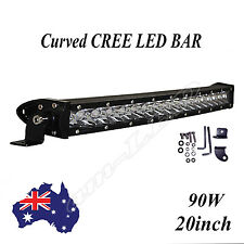 19inch 90W CREE Led Light Bar Single Row 4WD Offroad 4x4 JEEP Truck Fog Driving