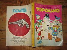 WALT DISNEY TOPOLINO LIBRETTO NUMERO 689 PRESENTI PUNTI CLUB 9 FEBBRAIO 1969