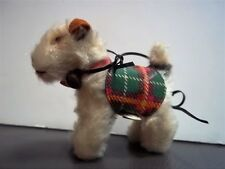 """Vintage 1950's  """"Ginny's Pup"""" Steiff Dog Fox Terrier Mohair Excellent"""
