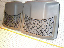 Mercedes Early W124 300CE front seats rear GRAY OE 1 set of 2 Covers with 2 Nets