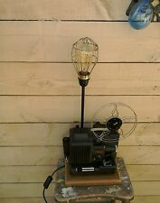 VINTAGE/RETRO LAMP MADE FROM OLD FILM PROJECTOR